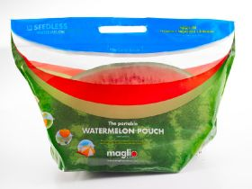 Fresh-cut watermelon bags piloted