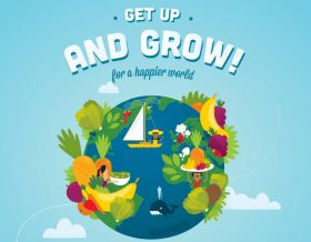 Dole celebrates Get Up & Grow! winner