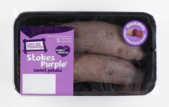 Waitrose Launches Purple Sweet Potato