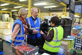 Lord Mayor visits market amid lease discussions