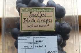 Israeli grape demand makes up for export decline