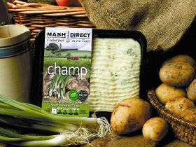 Mash Direct to ditch black packaging
