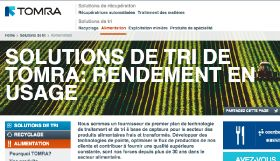Tomra launches French website