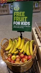 Free fruit for kids promo goes viral