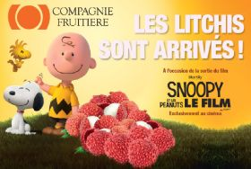 Compagnie Fruitière sponsors Peanuts