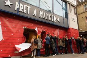 Pret wraps up as it starts charity mission