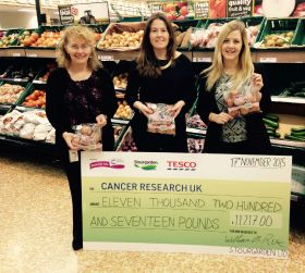 Onion grower raises cash to help cancer charity