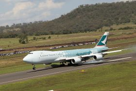 Cathay launches direct cargo flights from Toowoomba