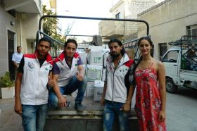 'Peace date' sales to help Syrian families