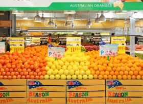 Australian citrus smashes export record