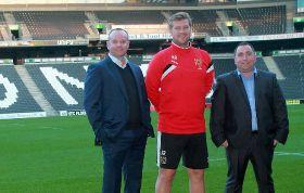 SH Pratt logistics firm teams up with MK Dons FC