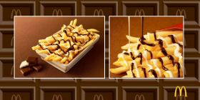 McDonald's unveils chocolate-covered French fries
