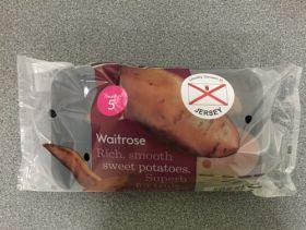 Jersey sweet potatoes launch at Waitrose