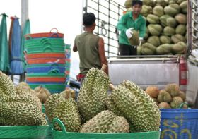 Durian deodorant tackles fruit odour