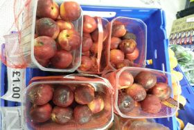 Produce retailer fined £3,520 for selling rotten fruit