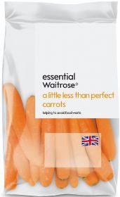 Waitrose unveils 'a little less than perfect' veg range