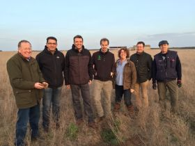 Growers attend Spanish asparagus tour