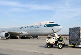 Cathay cargo sees double-digit drop