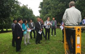 Chinese officials visit Tauranga in cross-industry tour