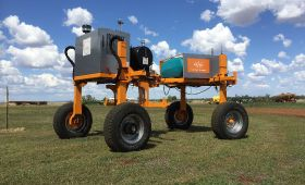 SwarmFarm launches cropping robots
