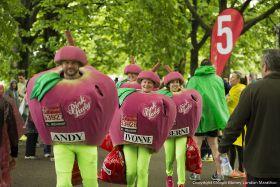 Pink Lady celebrates 10 years of London Marathon support