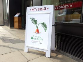 Pret to open veggie-only London store