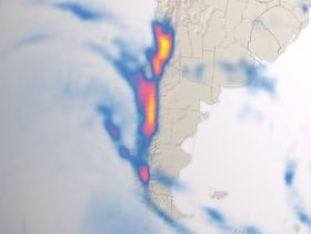 Rainfall raises concerns for Chile