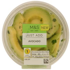 M&S launches ready-sliced fresh avocado pots