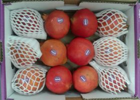 First Indian pomegranates arrive in US