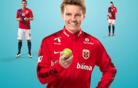 Footballers keep Norway's produce sales rising