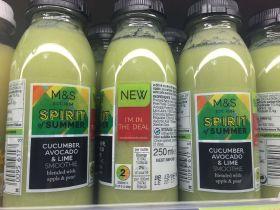 Fruit and veg juice sales rocket
