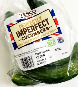 Tesco adds wonky cues to Perfectly Imperfect range