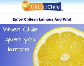 Chilean citrus refreshes US social networks