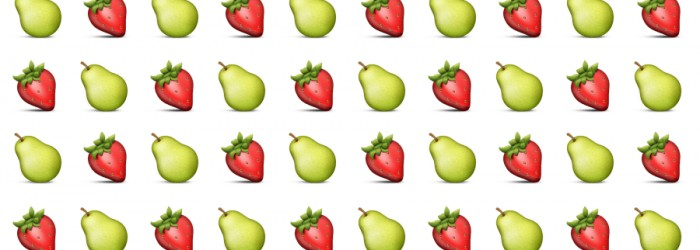 Sponsors snap up fruit-related emojis