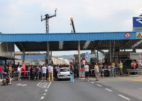 Perishables unaffected by Koper blockade