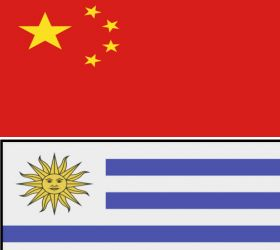 Double success for Uruguay in China