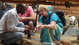 MyFresh and Abel & Cole staff volunteer in Malawi