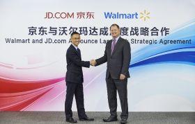 Walmart ups stake in JD.com