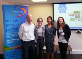 G's wellbeing programme attacts government visit