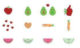 Fruit emojis get ugly makeover