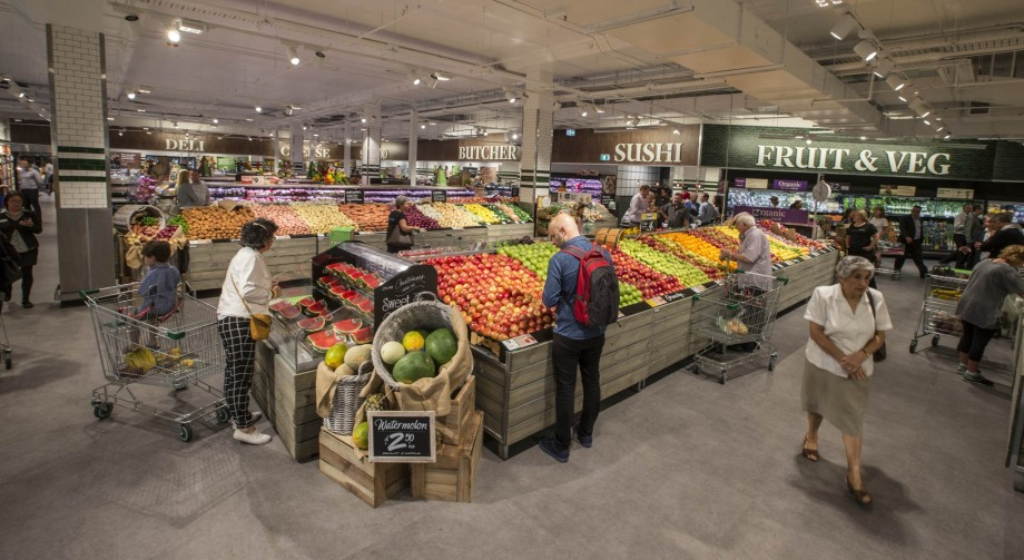 Woolworths Unveils New Look Store