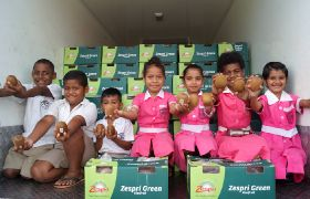 NZ donates more fruit to Fiji