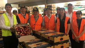 Montague ships nectarines to China