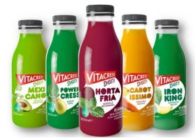 Vitacress unveils exotic juice combos