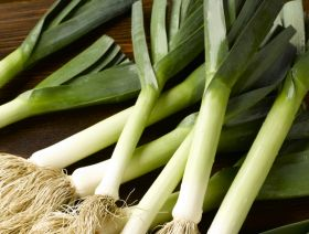 """Expect leek shortages in the New Year"""