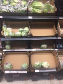 T&A produce at Asda