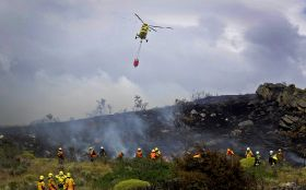 Chile assesses impact of fires