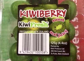 Kiwiberries make their mark in the US