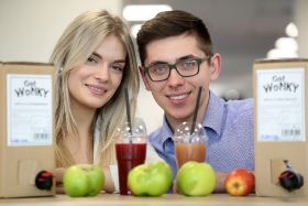 Cardiff duo launch wonky fruit juice business