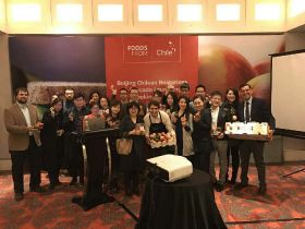 Chile showcases fruit in Beijing